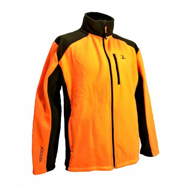 Fleece-Jacke Polairecor für Kinder, Signal-Orange